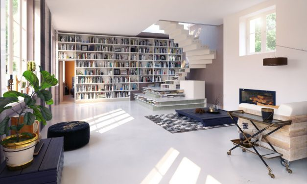 9 Perfect Home Libraries