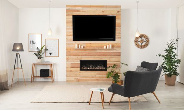 Where To Put Your TV And Fireplace?